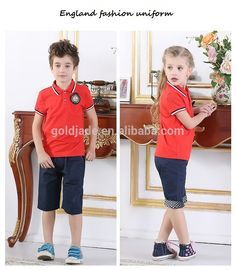 2015 new design primary school uniform japanese or england school uniform,provide school-uniform sample