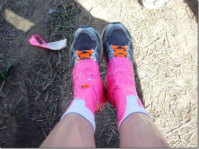 Mud Run Tips & What To Wear | Skinny Chick Blog. Duck tape your  shoes on so ya dont lose them in the mud pits!
