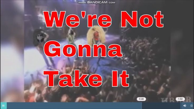 We're not gonna take it Welcome to Granny Monster Channel on You Tube I was feeling devilish..and no way will I mark this live unless all parties give me the OK! I always wanted to manage a Rock Band and can't wait for ticket master to call so we can go on the road! Pet Monster: https://www.youtube.com/channel/UCOZGqwNT2v2YRgCv-ameRwg Vladshadowking: https://www.youtube.com/channel/UCIFXvwGpSou8_yoZdW1biHQ dark matter: https://www.youtube.com/user/bd10000000 Lynn Denton…