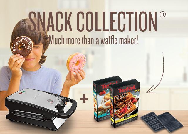 Snack Collection, bien plus qu'un croque gaufre