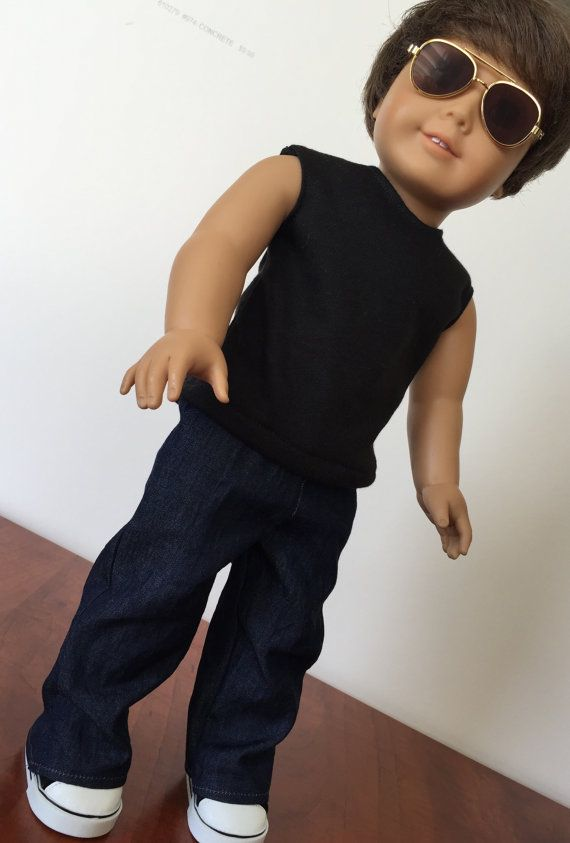 American Boy Doll Clothes 18 inch doll clothes by 4PeasCreations