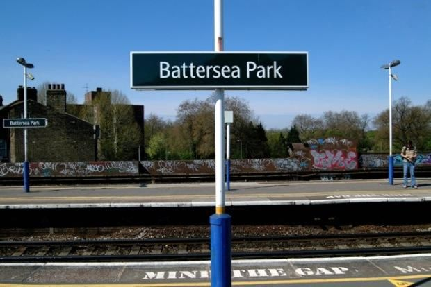 Battersea Park Railway Station (BAK) in Battersea, Greater London
