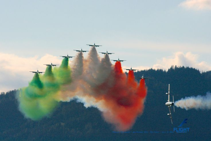 May 2014 - Frecce Tricolori from Italian Air Force - Zeltweg Airpower 2011 - July 2, 2011  Buy Now the Flight Calendar 2014: http://rp9.it/FlightCalendar2014 Contains 12 Amazing Aircraft Photos. The Best Gift for Christmas!