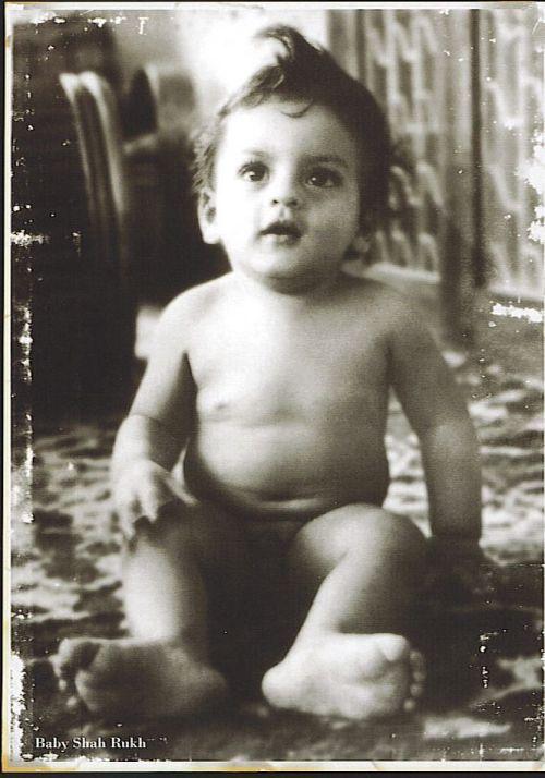 Shahrukh Khan as a baby