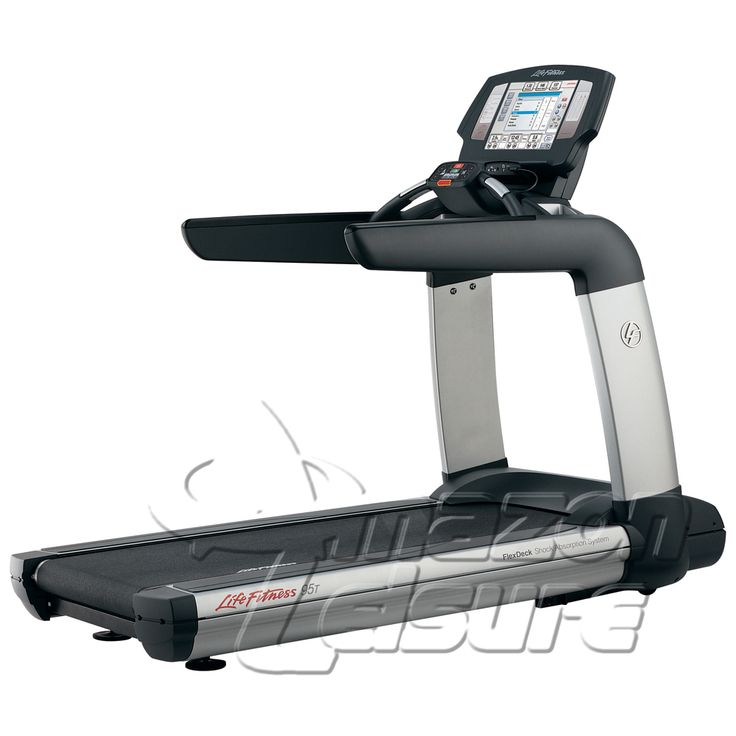 "In Stock Now: The fantastic Life Fitness 95T Treadmill with 15"" Engage Console.  Refurbished by Amazon Leisure and available at a great saving over the cost of buying new."