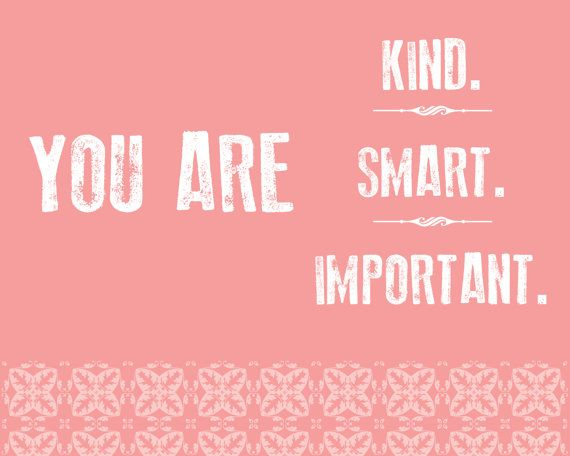 You Are Kind, You Are Smart, You Are Important // The Help