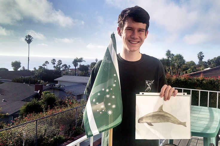 Fewer than 100 little vaquita porpoises are left in the Gulf of California. California teenager William Whittenbury aims to save them.