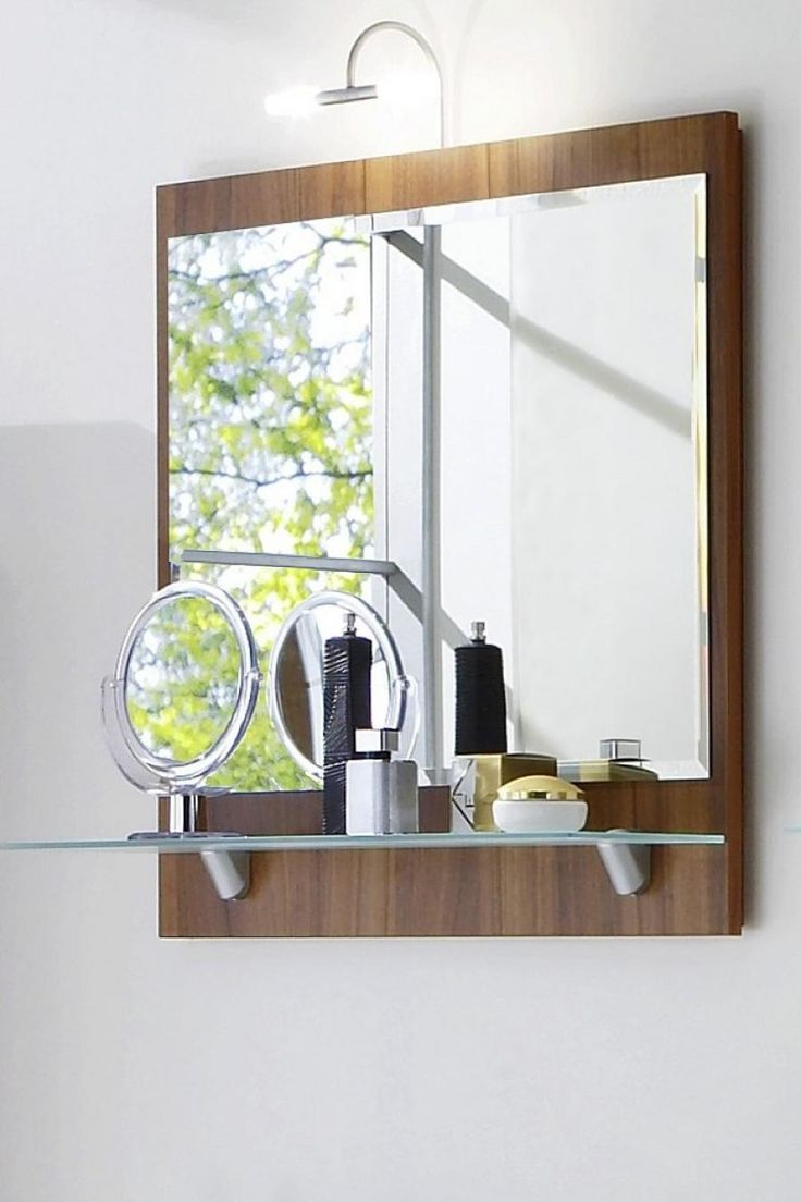 Best 25 Bathroom Mirror With Shelf Ideas On Pinterest Framing Mirrors Framing A Mirror And