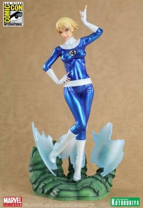 MARVEL INVISIBLE WOMAN SDCC 2011 EXCLUSIVE BISHOUJO STATUE