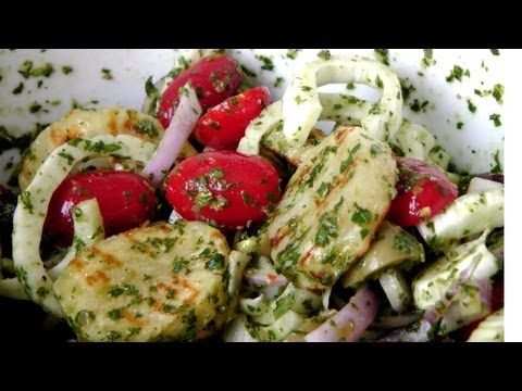 Grilled Potato Salad - Recipe by Laura Vitale - Laura in the Kitchen Episode 174