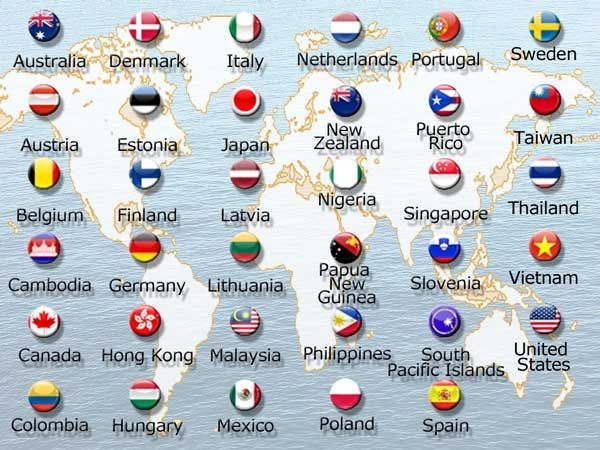 bHIP Global has branches in many countries