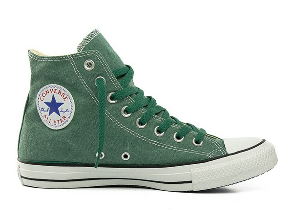 Converse - Chuck Taylor Hi Washed - forest green