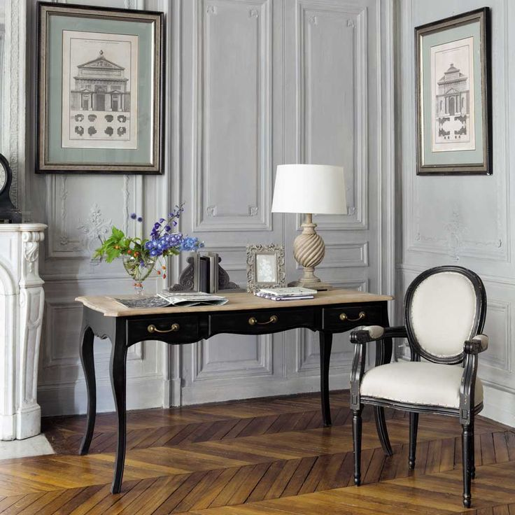 bureau versailles maisons du monde pinterest. Black Bedroom Furniture Sets. Home Design Ideas
