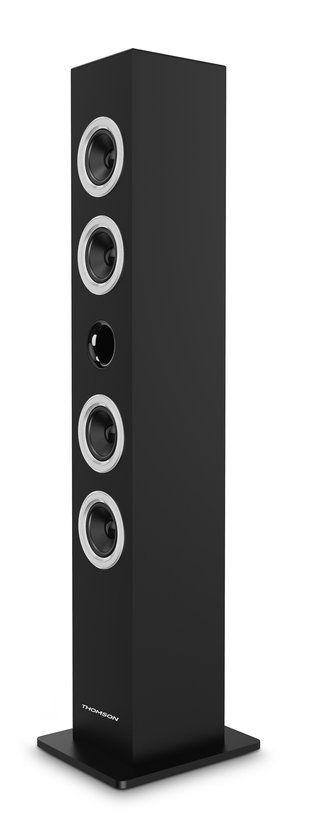Bluetooth speakertower met cd speler