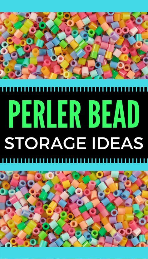 Perler Bead Storage ideas