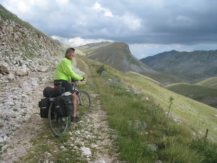 EPIRUS  Very tough cycling here, rocky roads, steep climbs, thin air and unspeakable beauty.