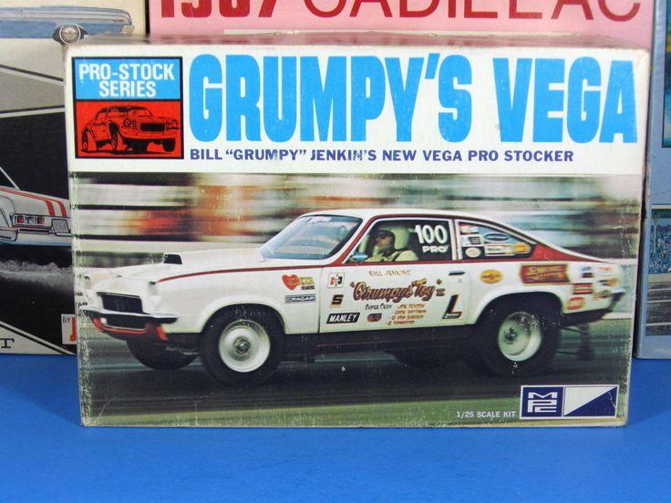 Rare Mpc 1 1757 225 Grumpy S Vega Pro Stock Issued 1973 Sealed