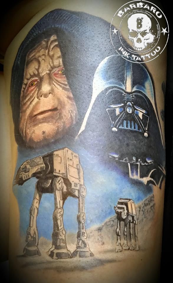 #tattoo #tattooist #tattoolife #tattooartist #tattoofreakz #tattoolifemag #tattooistartmag #tattooed_body_art #tattooistartmagazine #thebesttattooartists #thebestpaintattooartists #colortattoo #inkedmag #inkfreakz #crazytattoos #tattooalmeria #tattooed #terrortattoo #starwars #starwarstattoo #darthmaul #darthmaultattoo #colortattoo