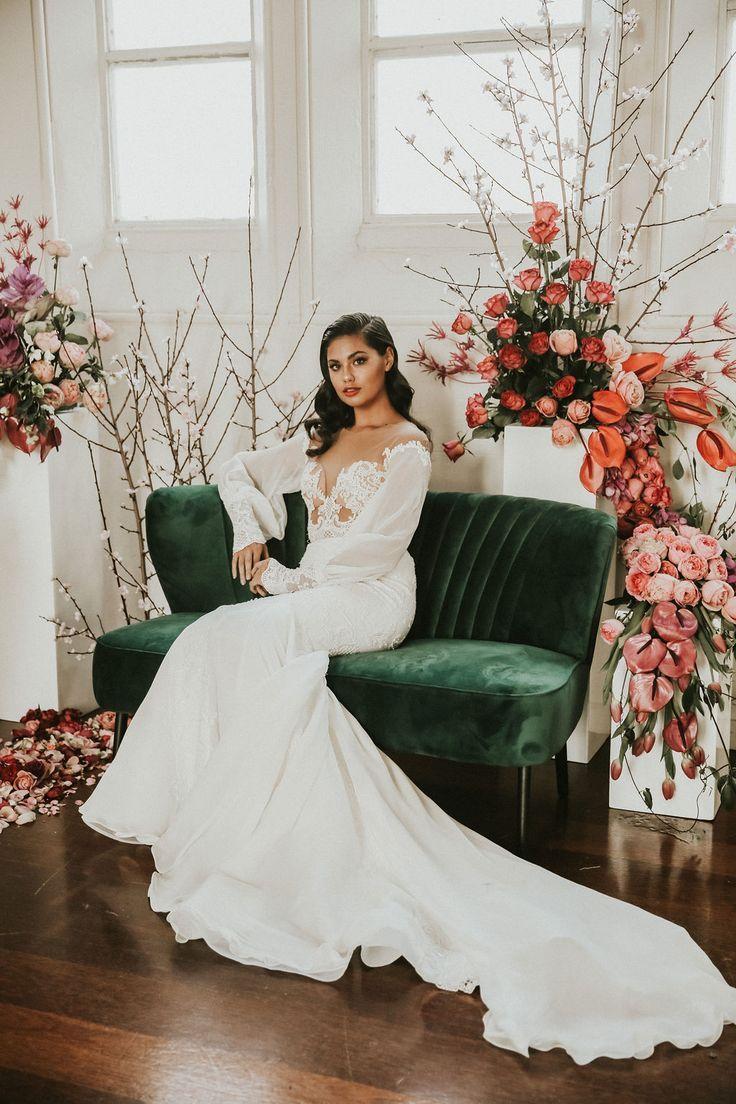 Indoor Styled Shoot Inspiration Greta Elizabeth Photography Bridal Styled Shoot Styled Wedding Shooting Vintage Wedding Photography