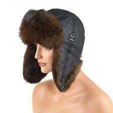 Messieurs lapin bonnet toque fellmütze Aviateur Bonnet Hiver Casquette uschanka: 69,90 EUREnd Date: 03-sept. 10:35Buy It Now for only: US…