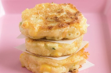 These savoury pikelets are perfect for an after school snack or pack them for yourself to take with to work.
