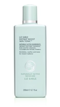 article says that for an instant refresh of makeup, spritz Liz Earle's Instant Boost Skin Tonic ($25) on a Beauty Blender ($20), then lightly patting it over skin to refresh makeup and give a softly flushed, glowy finish