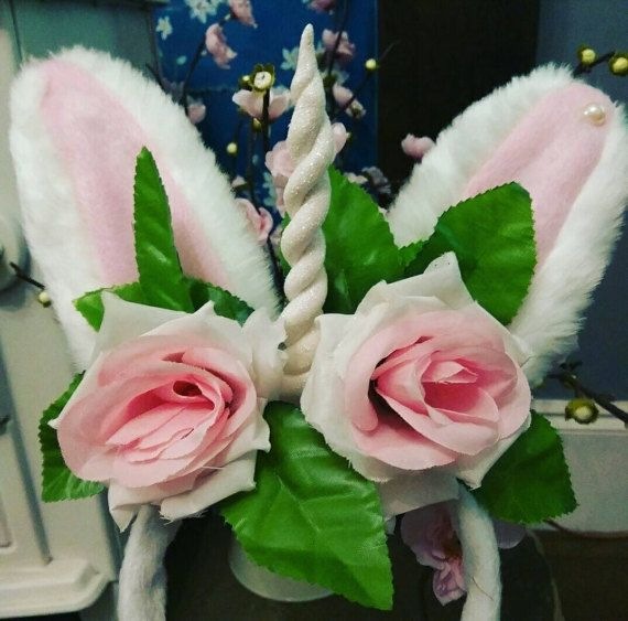 Check out this item in my Etsy shop https://www.etsy.com/uk/listing/496421348/sparkle-unicorn-bunny-ears-fascinator