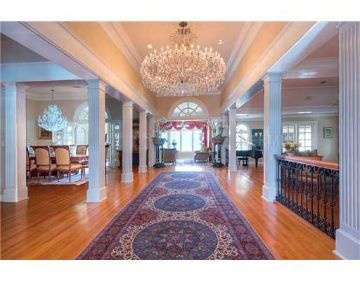 The striking interior features include beautiful floors, French doors and vaulted ceilings.  #Luxury #RealEstate  $9,440,000