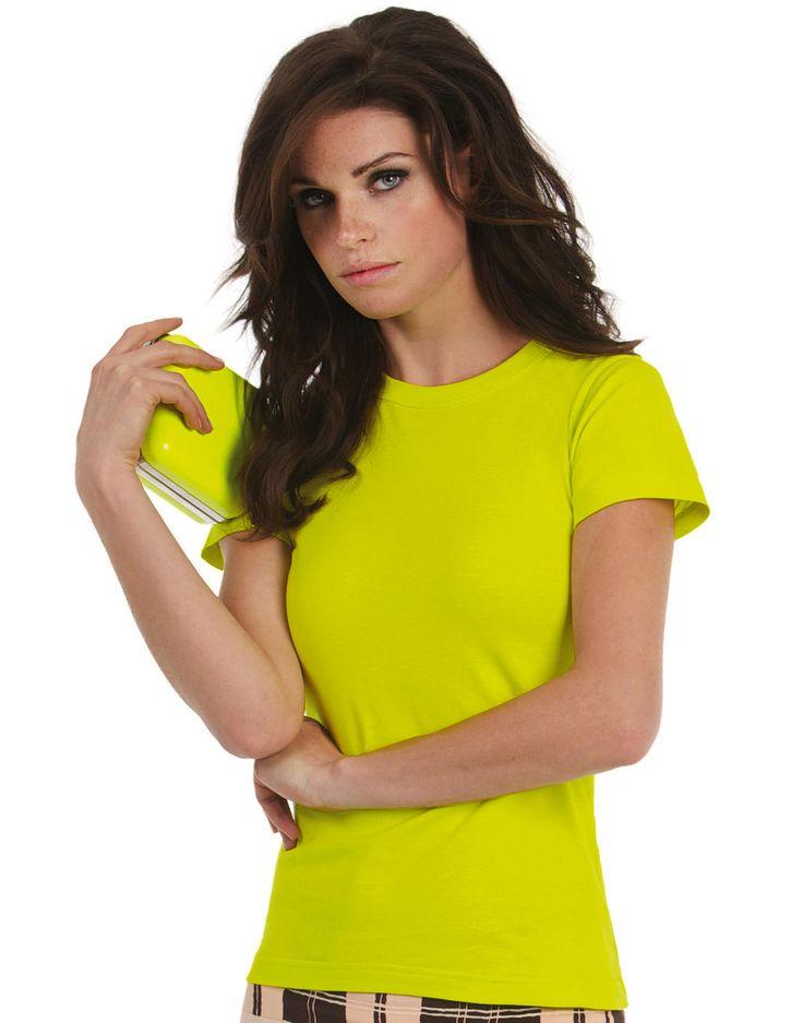 B&C Damen T-Shirt Exact 190 bei MPS MarkenPreisSturz.de  Wir bedrucken und besticken auf Wunsch günstig Ihre Bekleidung.