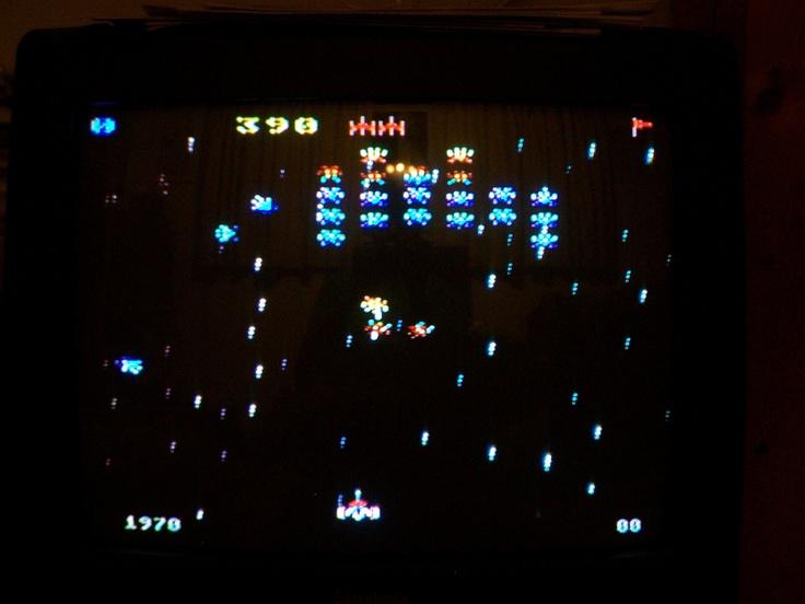 Atari 5200 Galaxian /by TheDamnМushroom #flickr #videogame #retro #atari