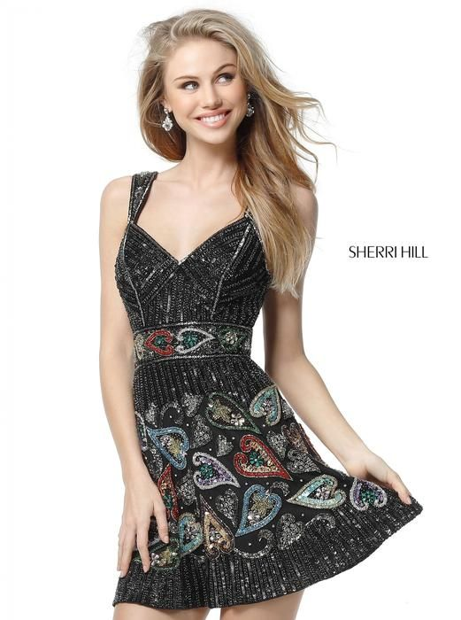 Sherri Hill Prom and Homecoming Dresses Sherri Hill 51358  Sherri Hill One Enchanted Evening - Designer Bridal, Pageant, Prom, Evening & Homecoming Gowns
