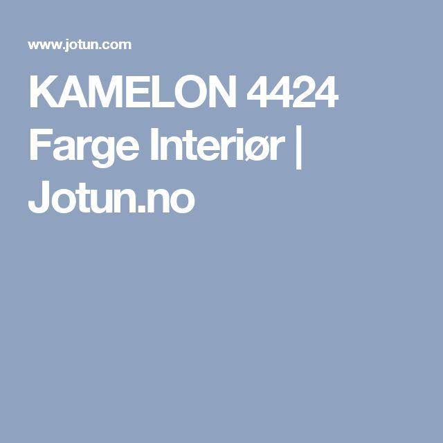 KAMELON 4424 Farge Interiør | Jotun.no