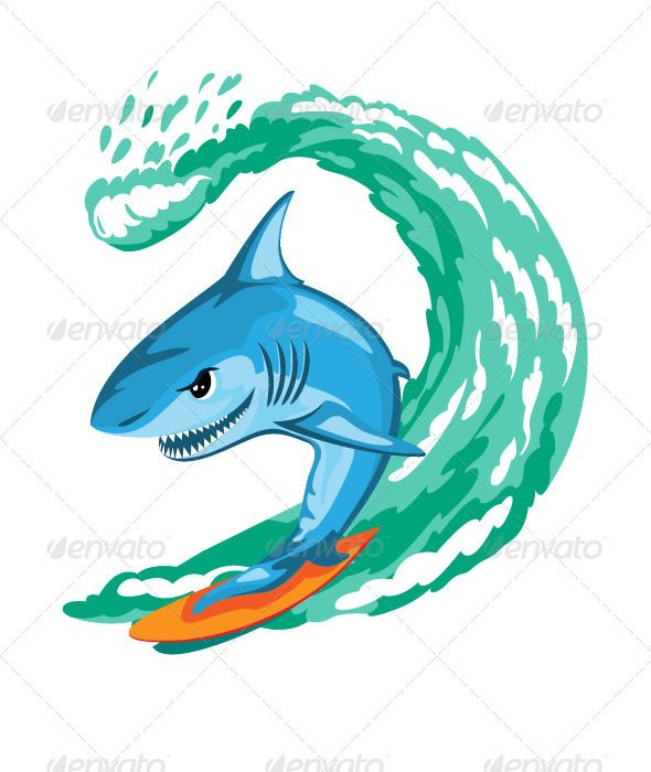 Realistic Graphic DOWNLOAD (.ai, .psd) :: http://jquery.re/pinterest-itmid-1003447304i.html ... Cartoon Shark Surfer ...  cartoon, cheerful, fish, fun, humor, illustration, sea, shark, smiling, surf, surfboard, surfing, wave  ... Realistic Photo Graphic Print Obejct Business Web Elements Illustration Design Templates ... DOWNLOAD :: http://jquery.re/pinterest-itmid-1003447304i.html