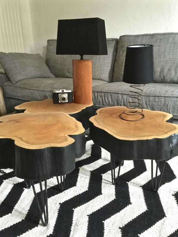 Round Wood Coffee Table Ideas