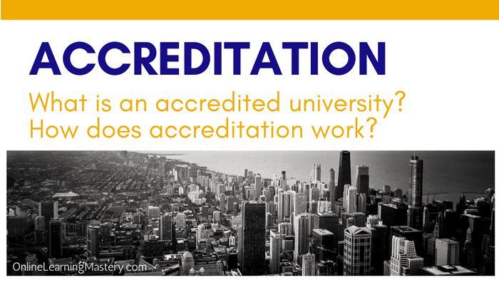 accredited university