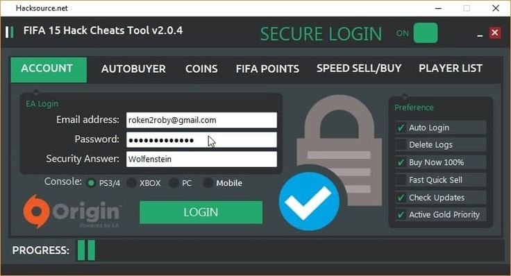 Very extended hack for FIFA 15 working on various platforms such as PS3, PS4, Xbox 360, Xbox One, PC and mobile devices. I really never was into football games as I would rather play it on my own in reality however many people seem to like FIFA 15. It works on PC, Xbox and PS3/PS4 as... https://hacksource.net/working-free-fifa-15-online-hack-tool-playstation-3-ps4-xbox-one-360-pc-android-ios-download/