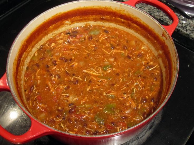 Pioneer Woman's Chicken Tortilla Soup. So good! http://thepioneerwoman.com/cooking/2011/01/chicken-tortilla-soup/