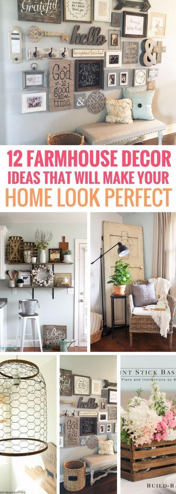 12 Bauernhausdekor-Ideen, die Ihr Zuhause perfekt aussehen lassen