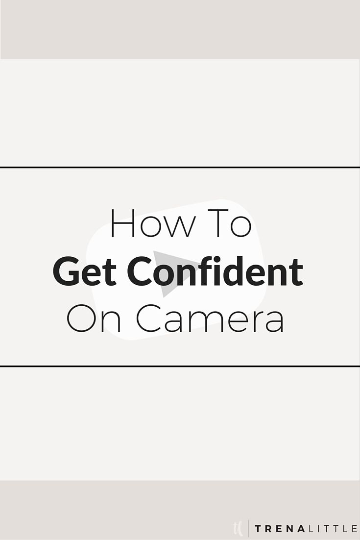 I'm addressing the common fears we all have when it comes to being on camera, how to get comfortable on camera and how to be more confident.