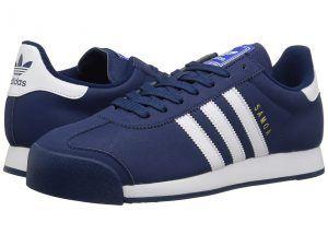 adidas Originals Samoa (Mystery Blue/Footwear White/Blue) Men's Classic Shoes