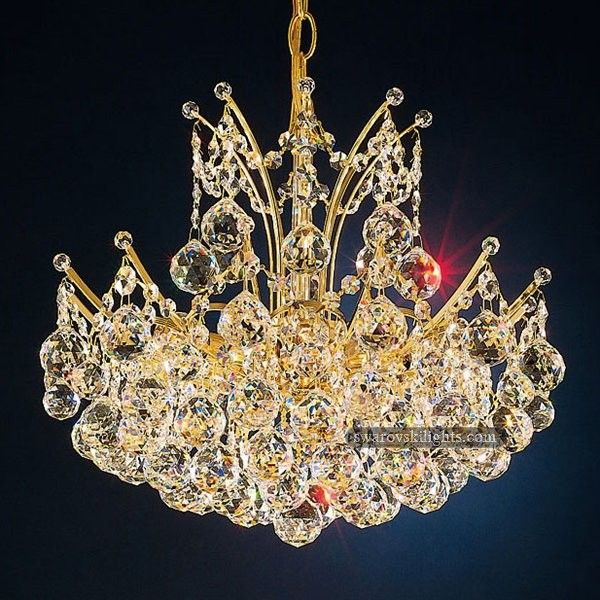 142 best swarovski Small Crystal Chandeliers images on Pinterest ...