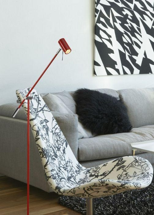 Cato - floor lamp. Made in Sweden by Belid