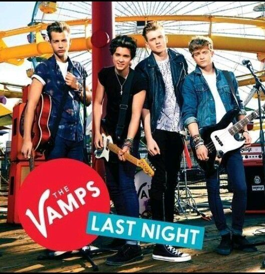 The Vamps Last Night, be sure to check there music vid for this song it's amazing hate to say its my fave ever!!!!!!!!!!-Kenzie