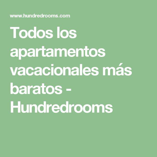 Todos los apartamentos vacacionales más baratos - Hundredrooms
