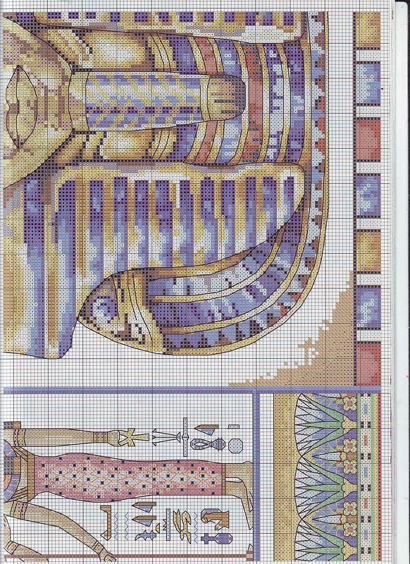 221 best sticken Ägypten images on Pinterest | Kreuzstichmuster ...