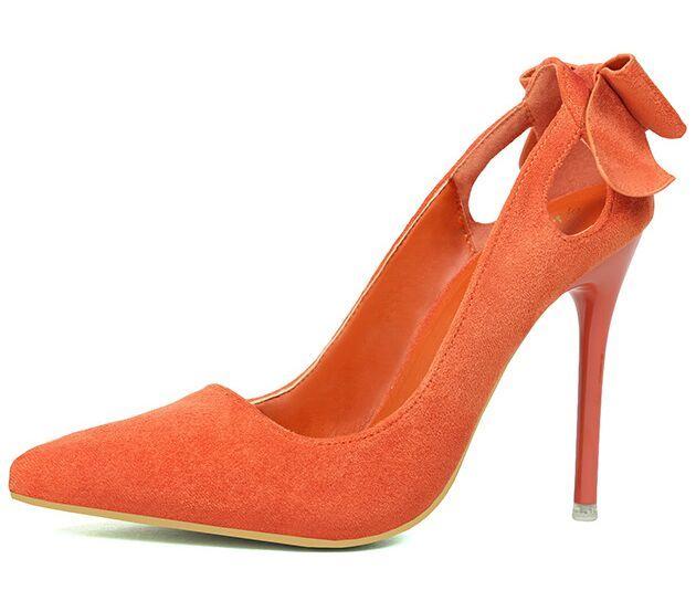 $30.74 (Buy here: https://alitems.com/g/1e8d114494ebda23ff8b16525dc3e8/?i=5&ulp=https%3A%2F%2Fwww.aliexpress.com%2Fitem%2FSize-4-8-Elegant-New-Bowtie-Women-Shoes-Orange-Summer-High-Heels-Shoes-Dress-Women-Pumps%2F32707731842.html ) Size 4~8 Elegant New Bowtie Women Shoes Orange Summer High Heels Shoes Dress Women Pumps zapatos mujer (Check Foot Length) for just $30.74