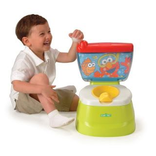 Elmo stand alone potty trainer / chair.