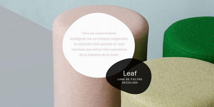 Nueva colección Leaf ecológica encuéntrala en Dekor Group