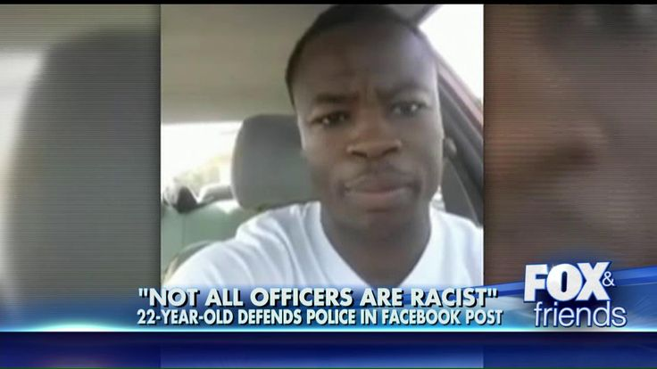 'Not All Officers Are Racist': Black Man's Defense of Police   Goes Viral  AMEN!!