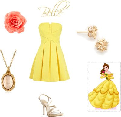 Disney Princess Inspired Outfits Series! Week One: Belle